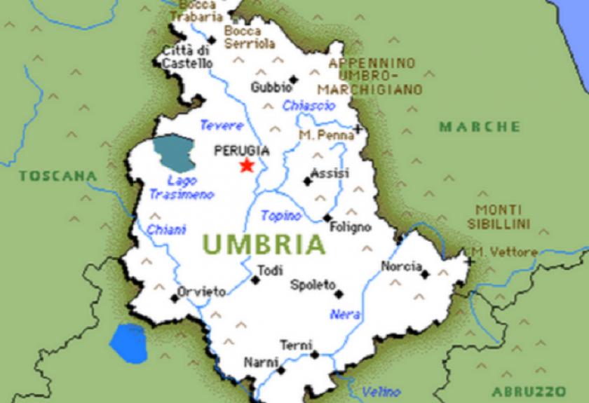 L'Umbria apre le porte: spostamenti nei Comuni confinanti, ma solo per  visite a congiunti - Saturno Notizie